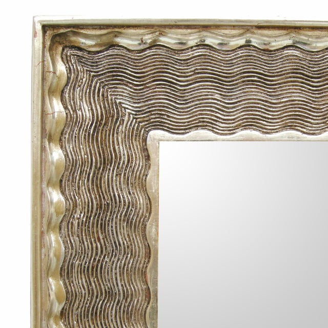 Item #: 9034 - Napoli Mirror Finish: 23K Distressed Yellow or White Gold w/Red Rub-Through Mirror: Standard - Clear Mirror...