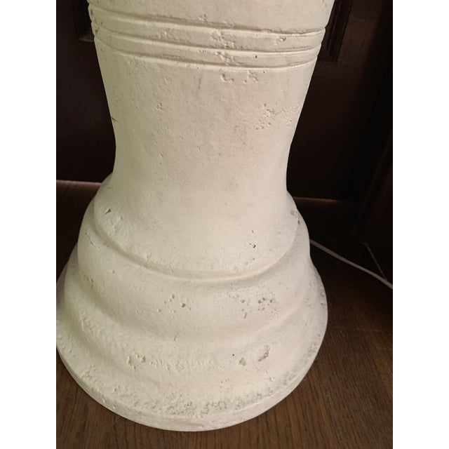 Deco Carved Plaster Floor Lamps For Sale In Dallas - Image 6 of 11