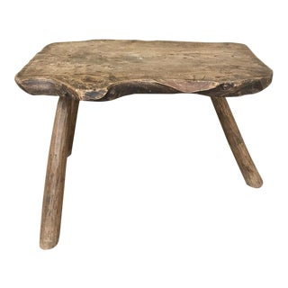 18th Century Rustic Coffee Table ~ Bench For Sale