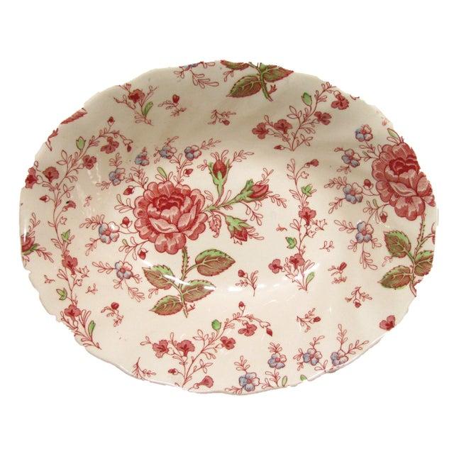 Johnson Brothers Vintage English Rose Chintz China Service - Set of 75 For Sale - Image 4 of 10