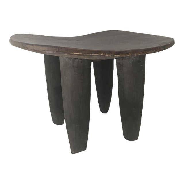 African Carved Senufo Stool - Image 1 of 9