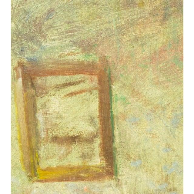 Julius Paulsen 'Interior With Mirror' by Julius Paulsen, Paris Salon, Royal Danish Academy, Impressionist Oil, Benezit For Sale - Image 4 of 9