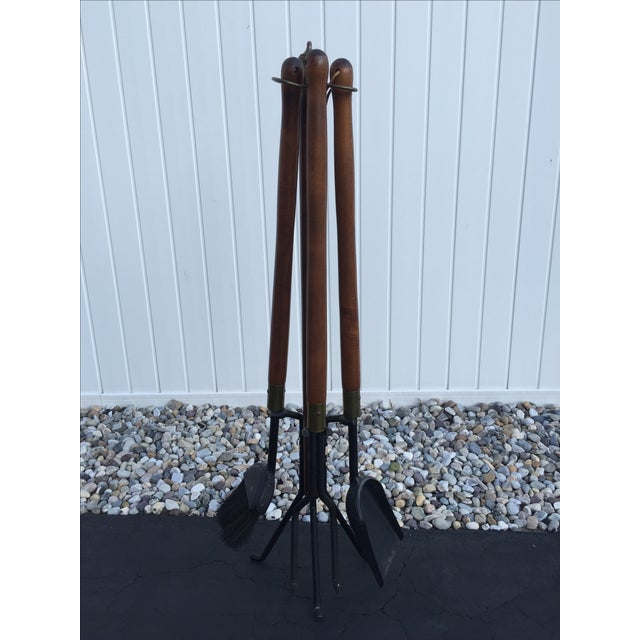Mid-Century Modern Seymour Fireplace Tools - Image 2 of 6