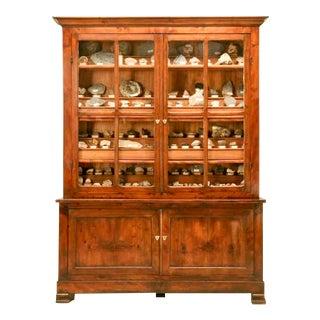 French Specimen Cabinet or Bookcase, circa 1891 For Sale