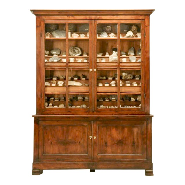French Specimen Cabinet or Bookcase, circa 1891 For Sale