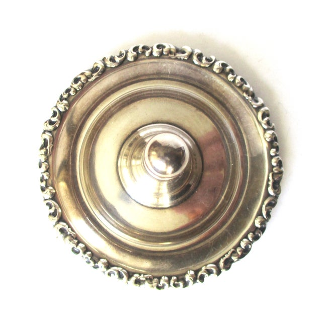 Vintage Sterling Ring Holder - Image 5 of 8