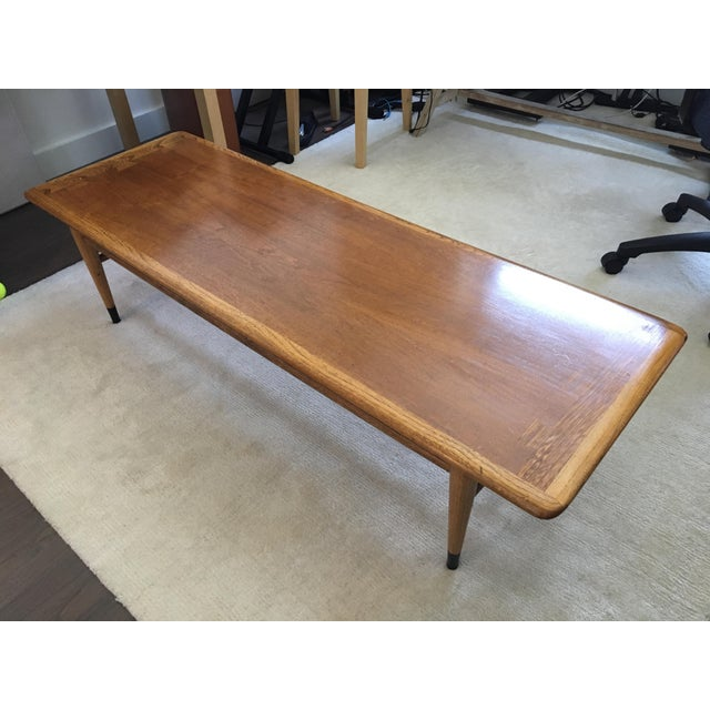 Mid Century Modern Walnut Coffee & Side Table Set by Andre Bus for Altavista Lane - Image 2 of 9