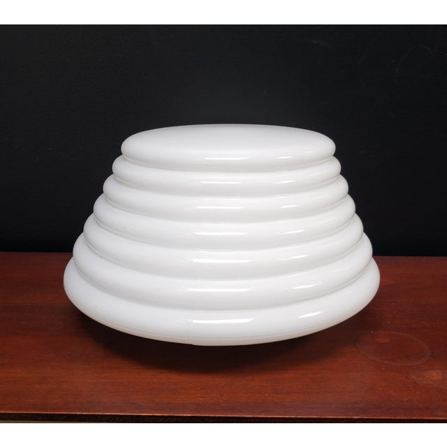 """Italian Modern """"Coban"""" Glass Wall Sconce by Leucos For Sale In Dallas - Image 6 of 10"""