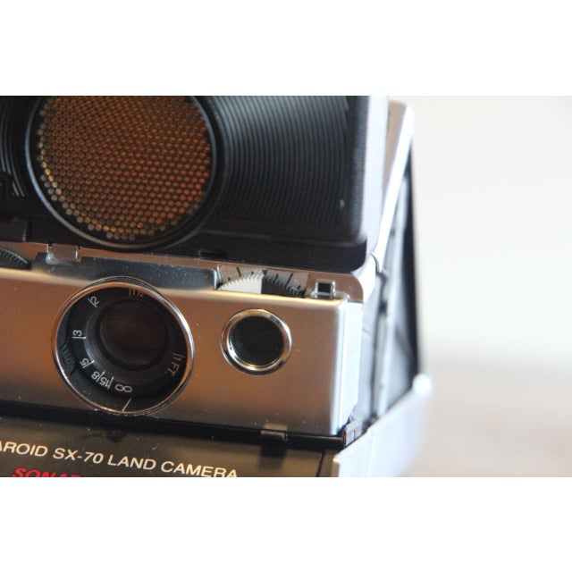 Vintage Polaroid SX-70 Sonar Camera - Image 10 of 11