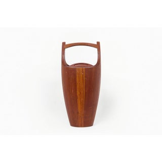 "Danish Modern Jens Quistgaard for Dansk 19"" Teak Ice Bucket Preview"