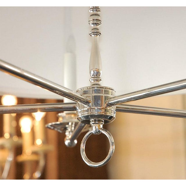 Paul Marra Design Five Arm Shaded Chandelier - Image 5 of 9