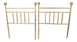 Image of Brass Headboards