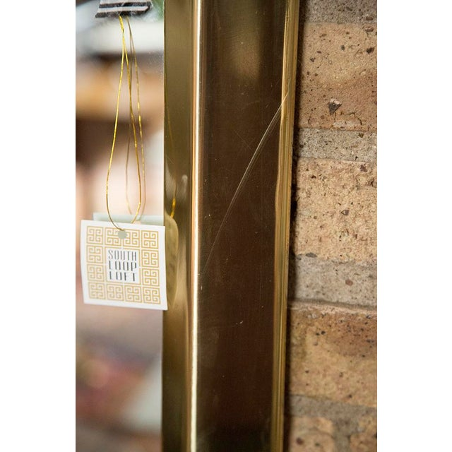 Brass Octagonal Mirrors - A Pair - Image 10 of 11
