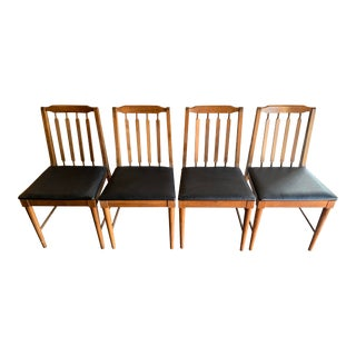 Mid Century Modern Dining Chairs- Set of 4 For Sale