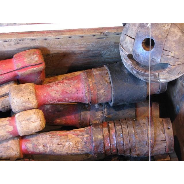 Antique Primitive Bowling Set For Sale - Image 4 of 4
