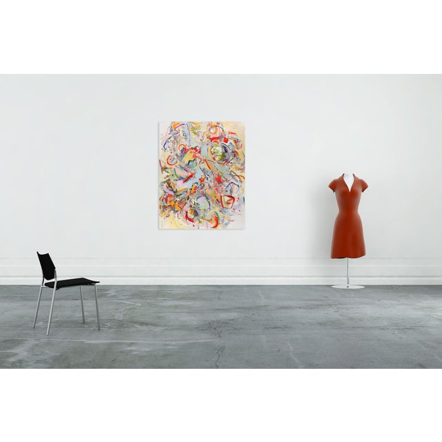 Oil on canvas Edition: Unique, Unframed. This painting is from a series of large paintings based upon dolls that Werfelhad...