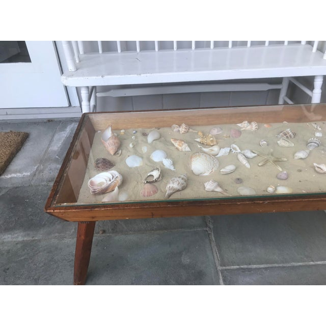 20th Century Americana Beachcomber Pine Coffee Table For Sale - Image 4 of 13