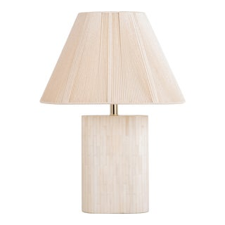 Enrique Garcel Tessellated Lamp Original Shade For Sale
