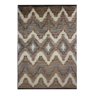 Aara Rugs Inc. Hand-Knotted Navajo Style Rug - 7′8″ × 10′2″ For Sale