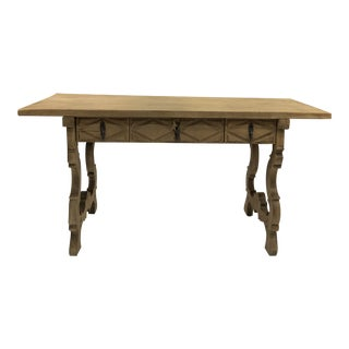 19th Century Bleached Fratino Table For Sale