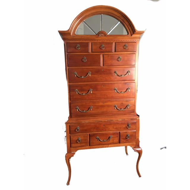 Lexington Furniture highboy dresser, in perfect condition. Extra tall so looks very impressive. The detail in the wood...