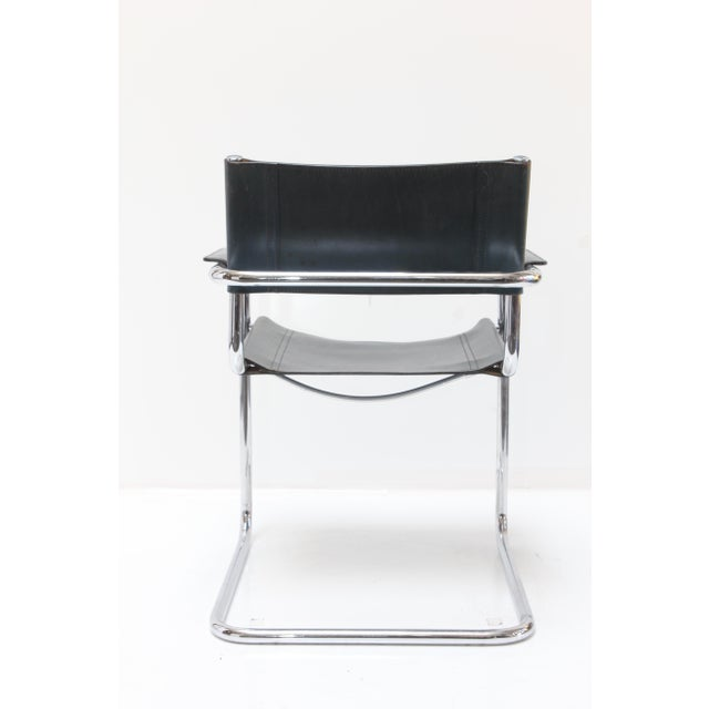 Marcel Breuer Leather Armchairs - A Pair - Image 5 of 11