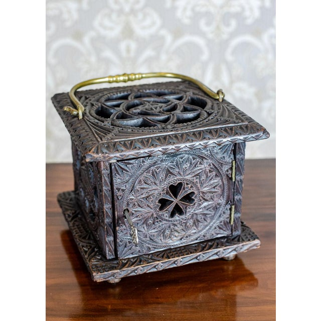 Late 18th Century Wooden Foot Warmer For Sale - Image 9 of 11