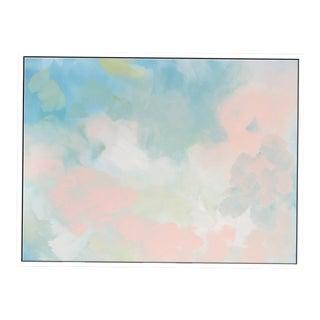 """Abstract Peach Pair No. 2"" Framed Giclée Print For Sale"