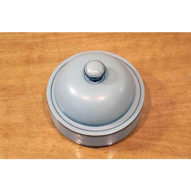 Gustavsberg Round Lidded Box For Sale - Image 4 of 7