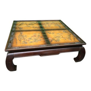 20th Century Chinoiserie Coffee Table by Bernhardt For Sale