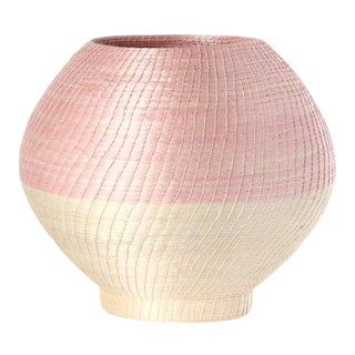 Small Halo Vase Blush/cream For Sale