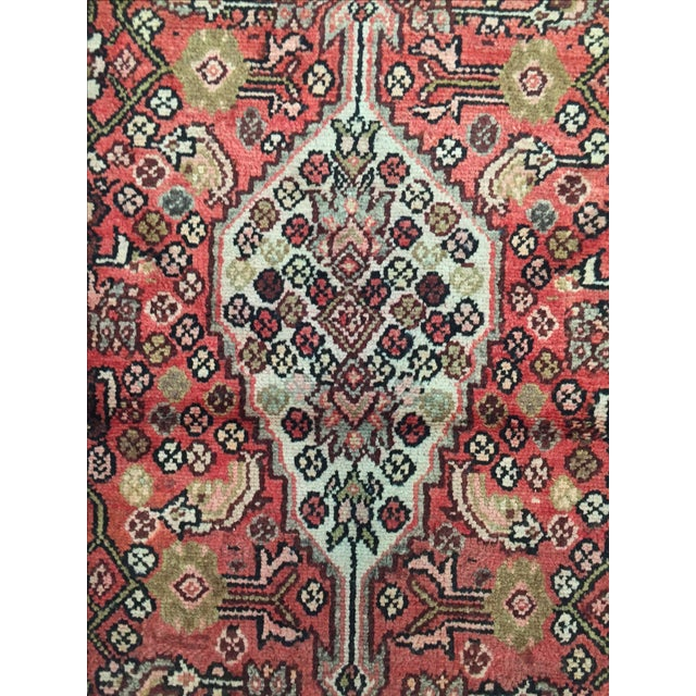 Hamadan Persian Rug - 2′11″ × 9′5″ - Image 7 of 8