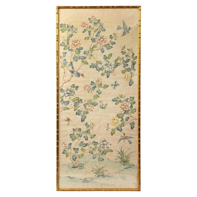 Framed Gracie Wallpaper Panel For Sale - Image 12 of 12