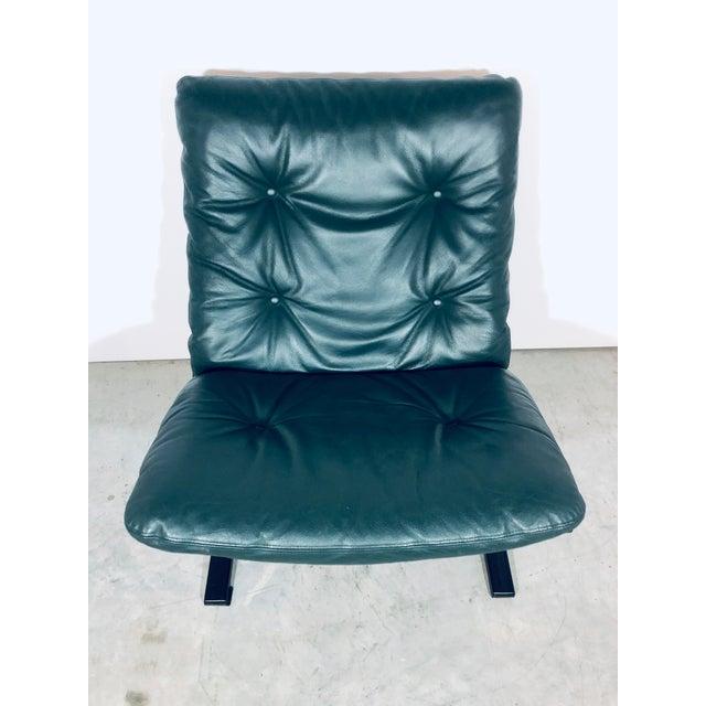 "Mid-Century Modern Ingmar Relling for Westnofa ""Siesta"" Chair, Vintage 1970s For Sale - Image 3 of 12"