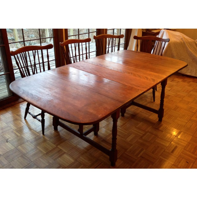 Heywood Wakefield Old Colony Dining Set Chairish