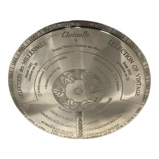 Christofle Wine Disk For Sale