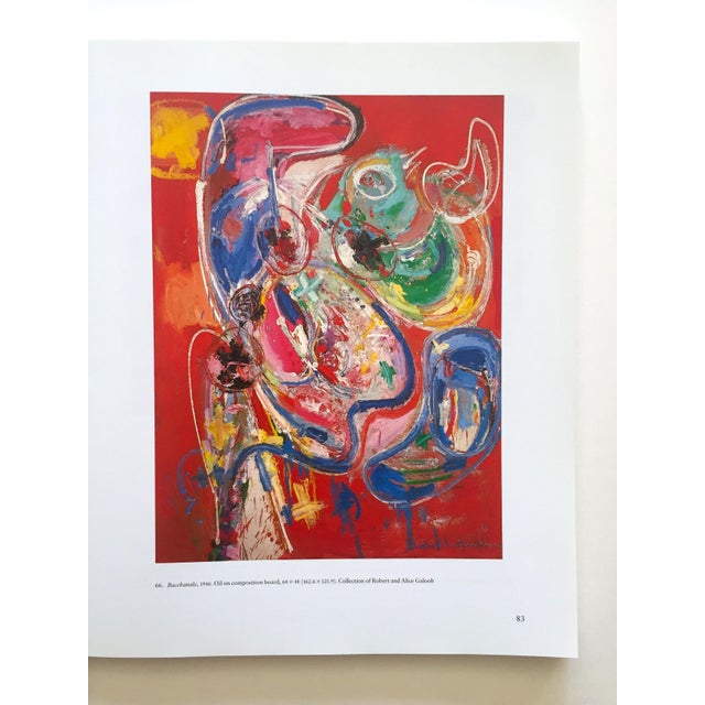 Paper Hans Hofmann Rare Vintage 1990 1st Edition Abstract Expressionist Collector's Whitney Museum Exhibition Art Book For Sale - Image 7 of 13