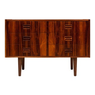 Vintage Danish Mid-Century Brazilian Rosewood Chest - Six Drawers For Sale