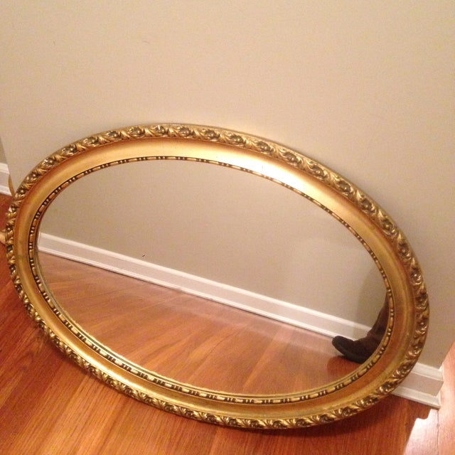 Gold Leaf Mirror - Image 2 of 3