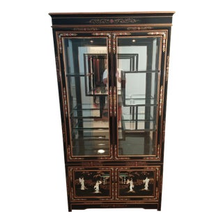 Asian Curio Display Cabinet
