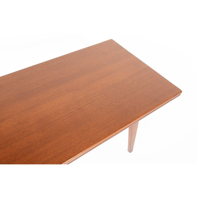 Danish Modern Coffee or Dining Elevation Table - Image 6 of 9