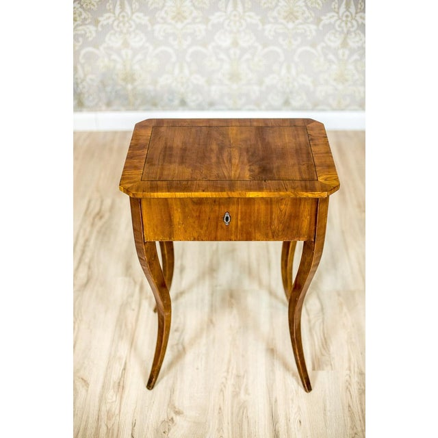Biedermeier Sewing Table, a Classic of the Style, circa 1860 For Sale - Image 9 of 11