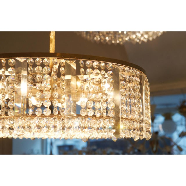 Austrian chandelier made of cut metal by Bakalowits & Söhne For Sale - Image 10 of 11