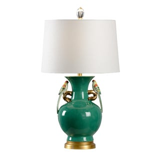 Tori Lamp, Green For Sale