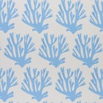 Schumacher x Molly Mahon Coral Wallpaper in Blue