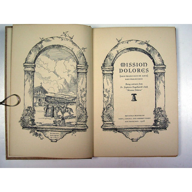 Arts & Crafts Mission Dolores 1st Ed 1928 Book For Sale - Image 3 of 4