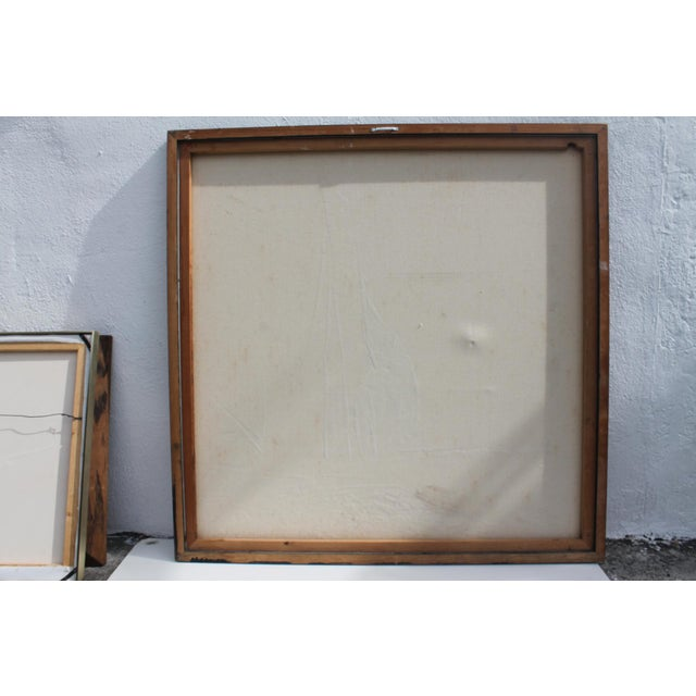 Vintage Abstract Composition by Christie For Sale - Image 10 of 11