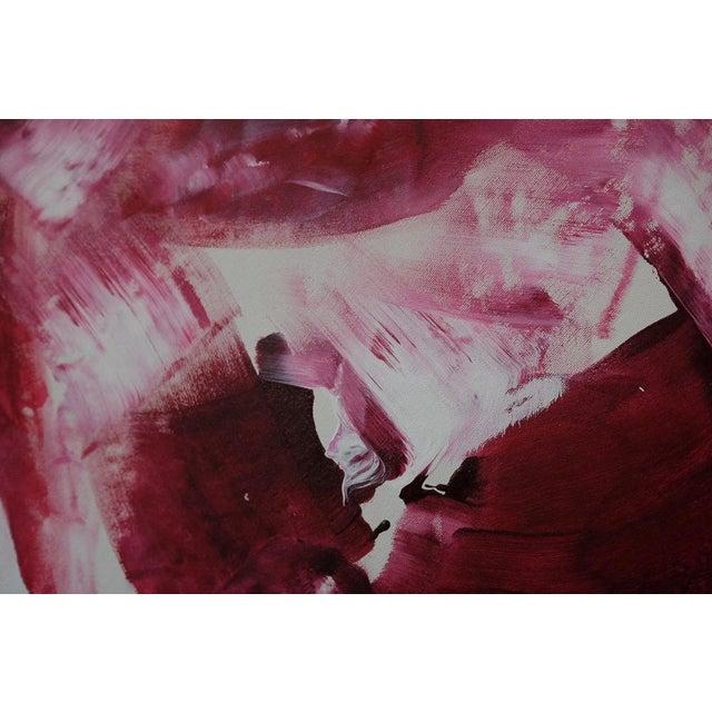 Enamel and Acrylic on Canvas.