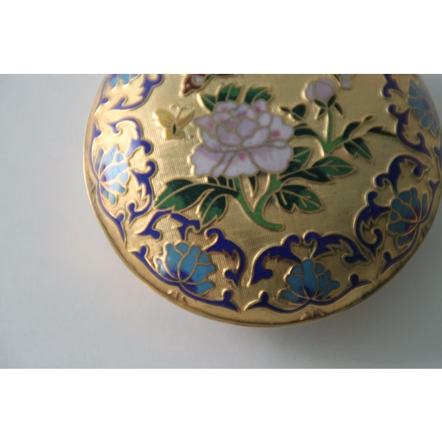 Gilt Enamel Boxes - A Pair - Image 6 of 6