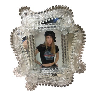 Murano Glass Photo Frame For Sale